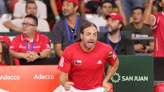 Jarry y Garin liderarán a Chile ante Austria