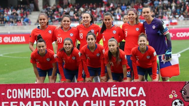 82f597fbb38a6 Foto  Aton Chile El calendario de la selección chilena femenina en el  Mundial de Francia 2019
