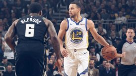 Stephen Curry y Klay Thompson lideraron victoria de Golden State Warriors sobre Bucks