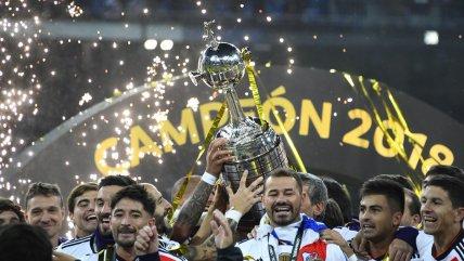 """La emoción de River Plate tras gritar campeón frente a Boca Juniors en el """"Santiago Bernabéu"""""""