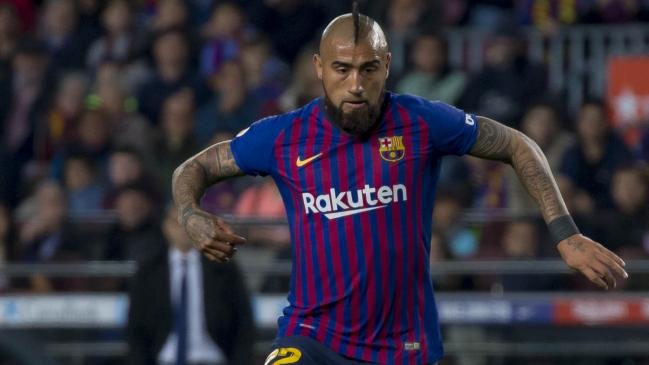 Arturo Vidal confesó que se siente como en casa en el Barcelona