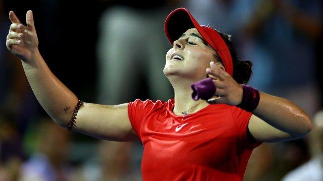 Tenis: Goerges y Andreescu, finalistas en Auckland