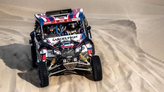 Rodrigo Moreno se adjudicó la quinta etapa del Rally Dakar y es el nuevo líder en SxS