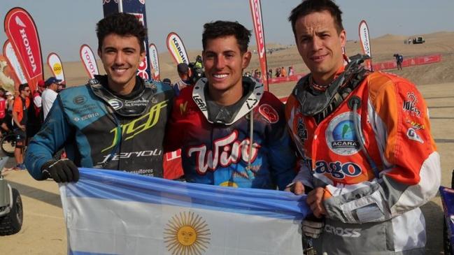 Argentina copó el podio del Dakar en quads con Nicolás Cavigliasso como campeón