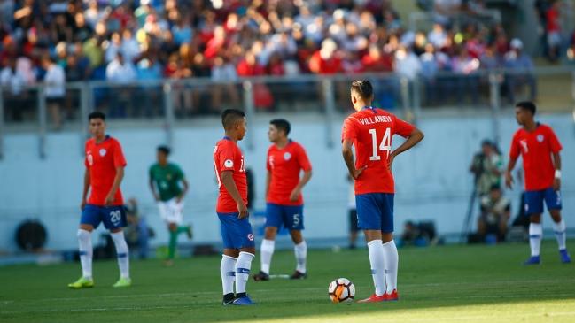 Chile empató con Bolivia y tuvo un flojo debut en el Sudamericano sub 20