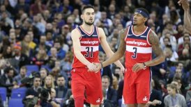Washington Wizards ganó en Londres y agravó la racha de New York Knicks