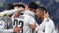 Juventus inició la segunda rueda de la Serie A con contundente triunfo sobre Chievo Verona