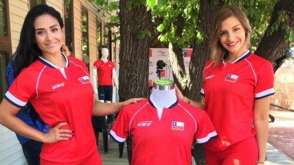 La nueva camiseta del equipo chileno de Copa Davis