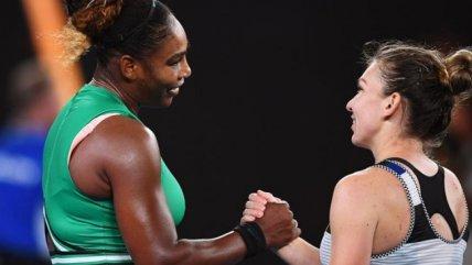 Serena Williams le ganó una dura batalla a Simona Halep en Australia