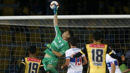 Coquimbo despertó ante U. Católica con un gol olímpico de Jaime Soto
