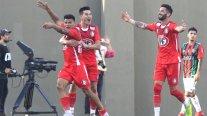 Unión La Calera tumbó con autoridad a Palestino en el arranque del Campeonato Nacional