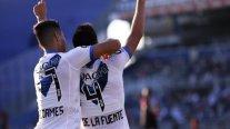 Pablo Galdames estuvo desde el arranque en empate de Vélez Sarsfield con Colón