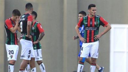 Palestino se estrelló ante la eficacia de La Calera en la primera fecha del torneo