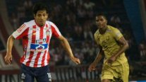 ¡Debut soñado! Matías Fernández anotó agónico empate de Junior ante Águilas Doradas