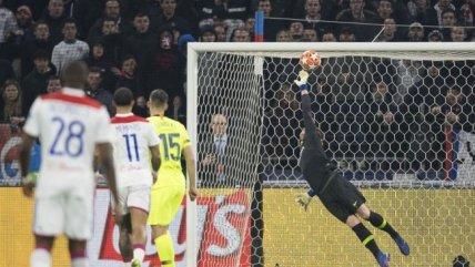 La magnífica tapada de Ter Stegen que ahogó el grito de gol de Olympique de Lyon