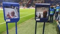 Dos niños hospitalizados vivieron la previa del Olympique de Lyon - Barcelona gracias a robots