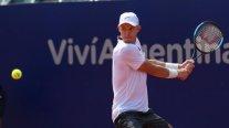 Nicolás Jarry cayó de manera increíble en la primera ronda del ATP de Río de Janeiro