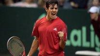 Christian Garín cosechó una sólida victoria en su estreno en el ATP de Río