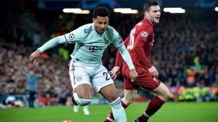 Bayern Munich aguantó a un agresivo Liverpool para dejar abierta su llave en Champions