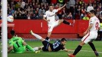 Sevilla clasificó a los octavos de final de la Europa League tras eliminar a Lazio