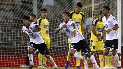 Colo Colo volvió a ganar y lo hizo gracias a un gol sobre la hora ante U. de Concepción