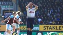 Tottenham tropezó ante Burnley y decayó en su lucha por el título de la Premier League