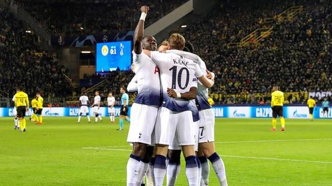 El Tottenham logra el pase a cuartos de la Champions League
