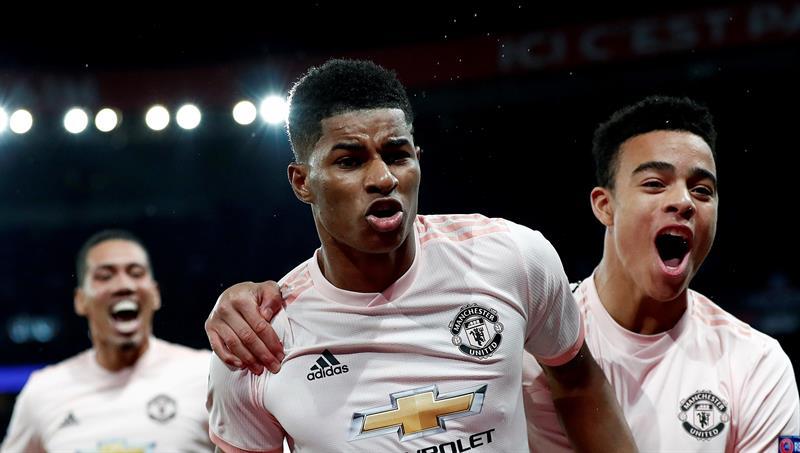 Fotos] Manchester United eliminó a PSG y avanzó a los cuartos de ...