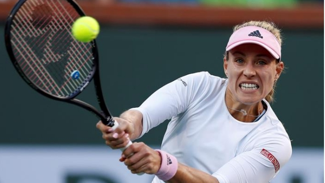 Angelique Kerber venció a Venus Williams y accedió a las semifinales de Indian Wells