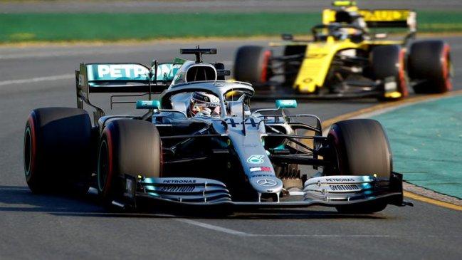 La grilla de salida del Gran Premio de Australia en la Fórmula 1