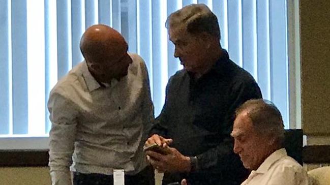 Jadue reapareció en Miami en medio de un juicio de divorcio