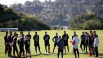 La selección chilena vive la previa del duelo ante México