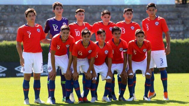 Chile enfrenta a Perú en el Sudamericano Sub 17 en Lima