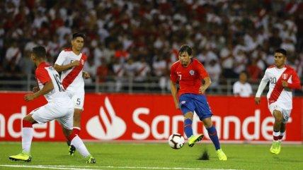 Sudamericano Sub 17: Chile y Perú firmaron un discreto empate en San Marcos de Lima