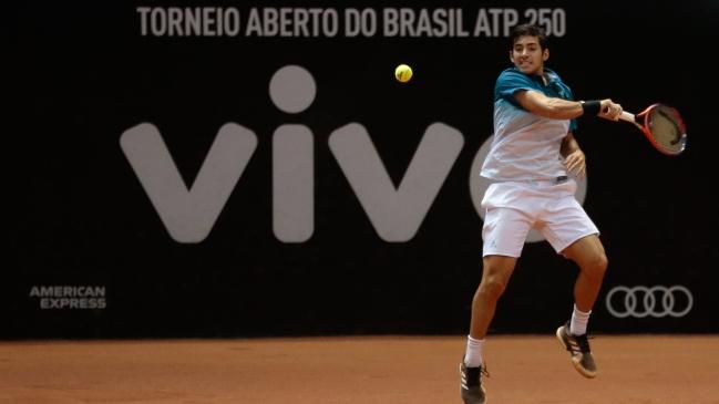 Christian Garín avanzó a los cuartos de final del ATP de Houston