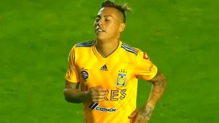 Eduardo Vargas cerró con un golazo la reacción de Tigres ante Monarcas Morelia
