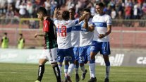 Universidad Católica batalló por un triunfo sobre Palestino y se aferró al liderato del torneo