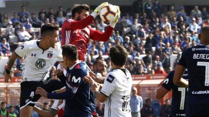 La vibrante igualdad de Universidad de Chile y Colo Colo en el Estadio Nacional
