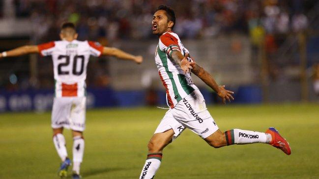 Revancha entre Palestino y Zulia se jugará en el Estadio Nacional
