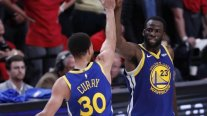 Curry y Green brillaron ante Portland y llevaron a Golden State Warriors a su quinta final consecutiva