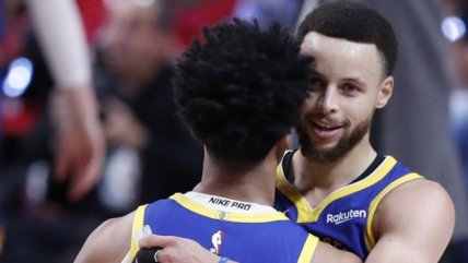 Stephen Curry guió el triunfo de los Warriors sobre Portland en la Conferencia Oeste