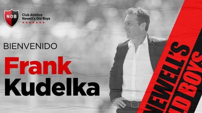 Newell's anunció la llegada de Frank Darío Kudelka como DT - Somos Deporte