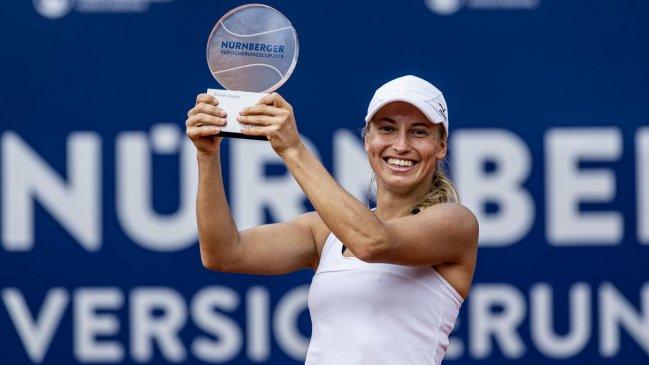 Yulia Putintseva logró en Núremberg su primer título WTA ...