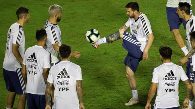 Messi mostró la intimidad de la Selección en Brasil