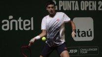 Tomás Barrios avanzó sin jugar a octavos de final en el Challenger de Fergana
