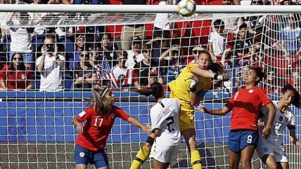 Las grandes atajadas de Christiane Endler ante Estados Unidos en el Mundial de Francia