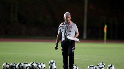 Reinaldo Rueda comandó una nueva práctica de Chile con miras el duelo ante Ecuador