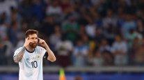 Lionel Messi: Vi al vestuario dolido, pero también convencido para ganar el partido que queda