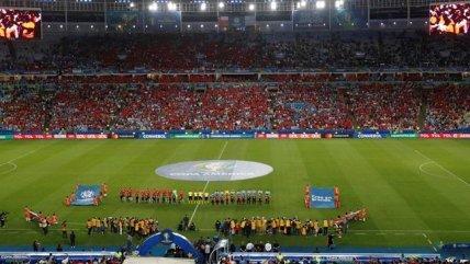 El himno de Chile llenó de emoción a los hinchas de la Roja en el Maracaná