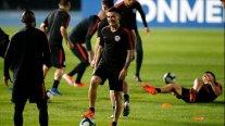 La Roja sigue alistando su crucial duelo ante Colombia